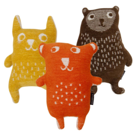 Klippan Knuffel Little Bear oranje