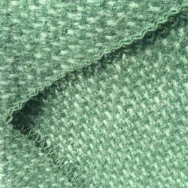 Klippan ledikantdeken eco wol Domino groen
