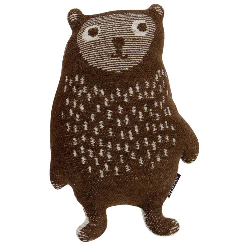 Klippan Knuffel Little Bear bruin