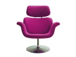 Artifort fauteuil Tulip F545 schijf draaibaar