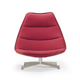Artifort fauteuil F586 Laag en draaibaar met kruisvoet