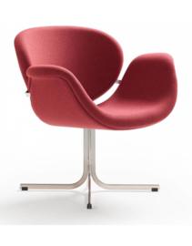Artifort fauteuil Tulip Midi F549 cross base niet draaibaar