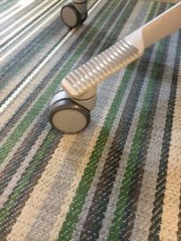 HAG los zacht wiel 65mm voor zachte vloer, onbelast geremd zwenkwiel
