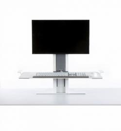 HumanScale QuickStand staand werken op bestaande werkplek model 1 - 100978
