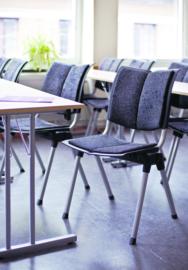 HAG WING Conventio 9831 design conferentiestoel - STAPELBARE ZAALSTOEL