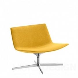 Arper Catifa 80 Loungestoel, 4-punts onderstel