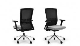 Comforto bureaustoel Dynaflex Haworth 5675 met FLEXIBELE GESTOFFERDE RUG