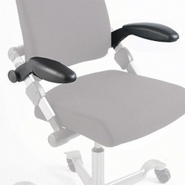 HAG H03 losse set armleggers met softop voor 1 H03 stoel