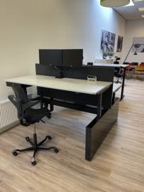 Konig Neurath DUO opstelling Active T - Zit sta opstelling showroom