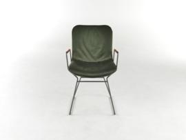 Bert Plantagie Draat D21 stoel met open arm