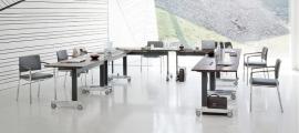 Wiesner Hager Flexibele klaptafel n-table