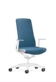 Bureaustoel Interstuhl PUREis3 Edition voor thuiswerkplek Azure Blue