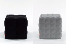 Buzzispace Buzzicube pouf 3D