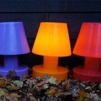 Bloom ! Portable lamp 56cm met oplaadbare batterij