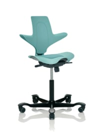 HAG Capisco Puls bureaustoelen model 8010 SEE GREEN Edition
