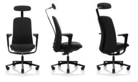 HAG Sofi 7300 Bureaustoel met hoge rugleuning