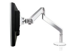 Human Scale M2 TFT monitorarm voor 1 beeldscherm- wit/chrome uitvoering