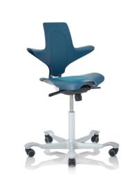 HAG Capisco Puls bureaustoelen model 8010 PETROLEUM Edition