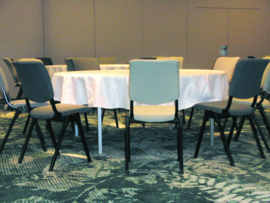 HAG Conventio 9521 design conferentiestoel breder en dieper - STAPELBARE ZAALSTOEL