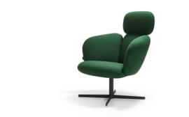 Artifort fauteuil Bras Highback 4 teens draaibaar