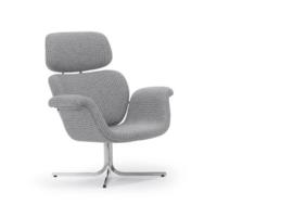 Artifort fauteuil Tulip F545 crossbase niet draaibaar