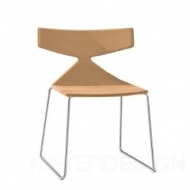 Arper Saya Chair stoel slede onderstel