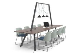 Lande DOCK tafel  400 x 100cm (x75cm hoog)
