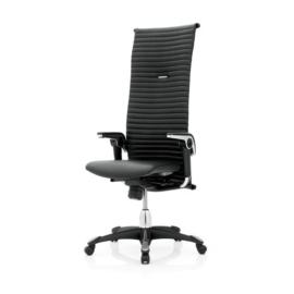 HAG H09 Managersbureaustoel  model 9331 Excellence in LEDER