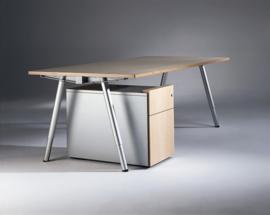 Lande Aluxx vergadertafel - bureautafel