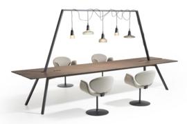 Lande DOCK tafel  320 x 100cm (x75cm hoog)