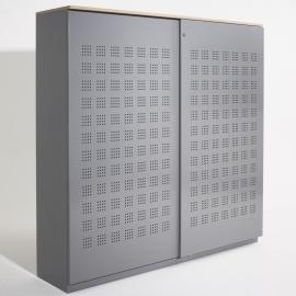 Mibra BOXX schuifdeurkast met stof 160 cm breed