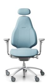RH Mereo 220 zilver / grijs bureaustoel model 8213 NPR 1813 normering