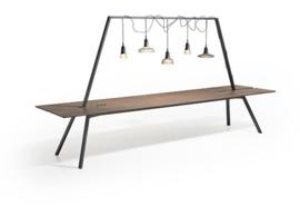 Lande DOCK tafel  320 x 120cm (x75cm hoog)