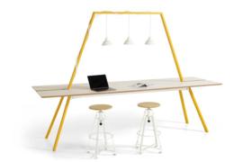 Lande DOCK tafel  400 x 100cm (x100cm hoog)