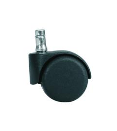 HAG los hard wiel 50mm voor zachte vloer, onbelast geremd zwenkwiel