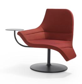 Artifort Gemini Swivel Chair met tafeltje