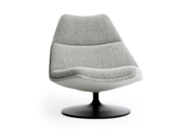 Artifort fauteuil F511 lage rug draaibaar