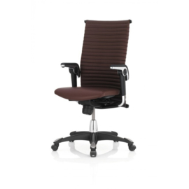 HAG H09 Managersstoel model 9321 Excellence in LEDER