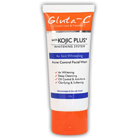 Gluta-C Acne Control & Face Wash with Kojic Plus+