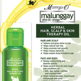 Malunggay Herbal Hair, Scalp & Skin Therapy Oil 30ml