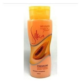 Silka Papaya Premium Whitening body wash 100ml