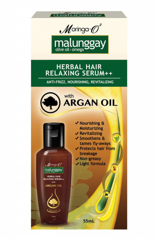 Malunggay Herbal Hair Relaxing Serum++