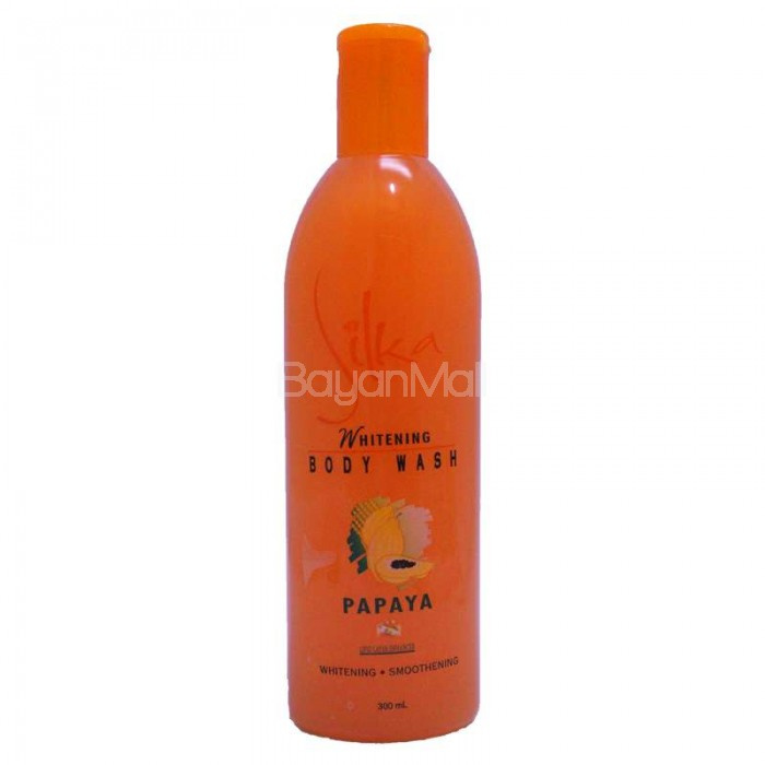 Silka Papaya Premium Whitening body wash 500 ml