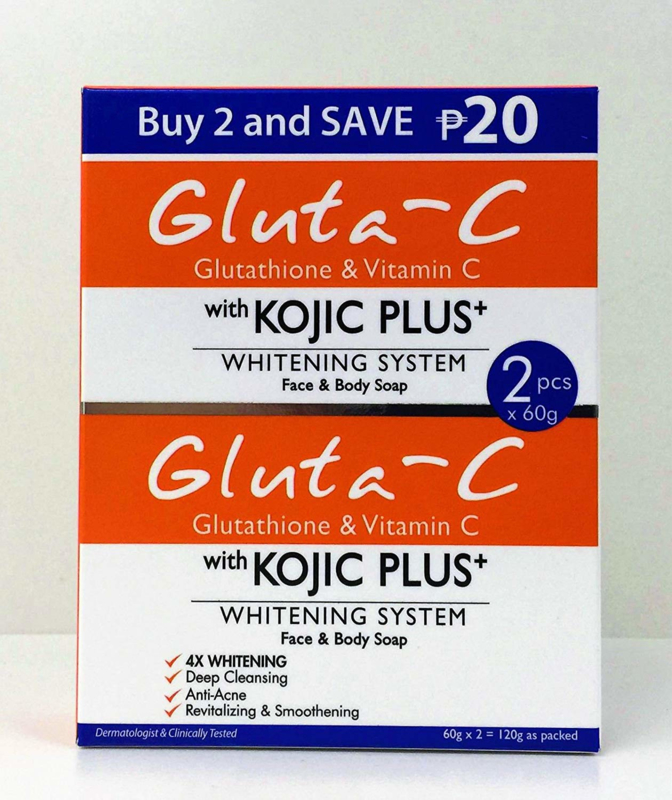 Gluta-C Face & Body zeep