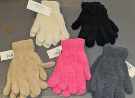 Fleece handschoenen one size junior