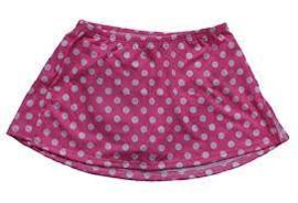 A-line Skate Skirt Polka Dot (K01)