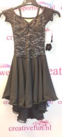 Zwarte jurk Maat 152 Elitexpression