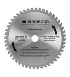 EHC.230/4  zaagblad art.nr.230.0003  ø 230 mm Z=48 d=25,4 mm Metaal