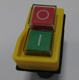 Aan/Uit schakelaar 5-pins Geel 220 V[5-pin] geel