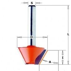 Afschuinfrees HW D=24 S=6 A=15°